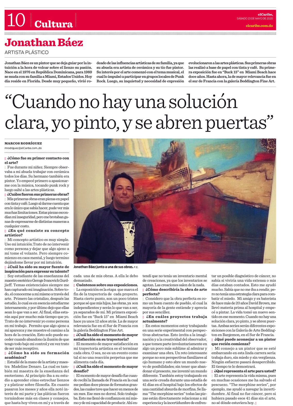 Jonathan_baez_Domenican_newspaper