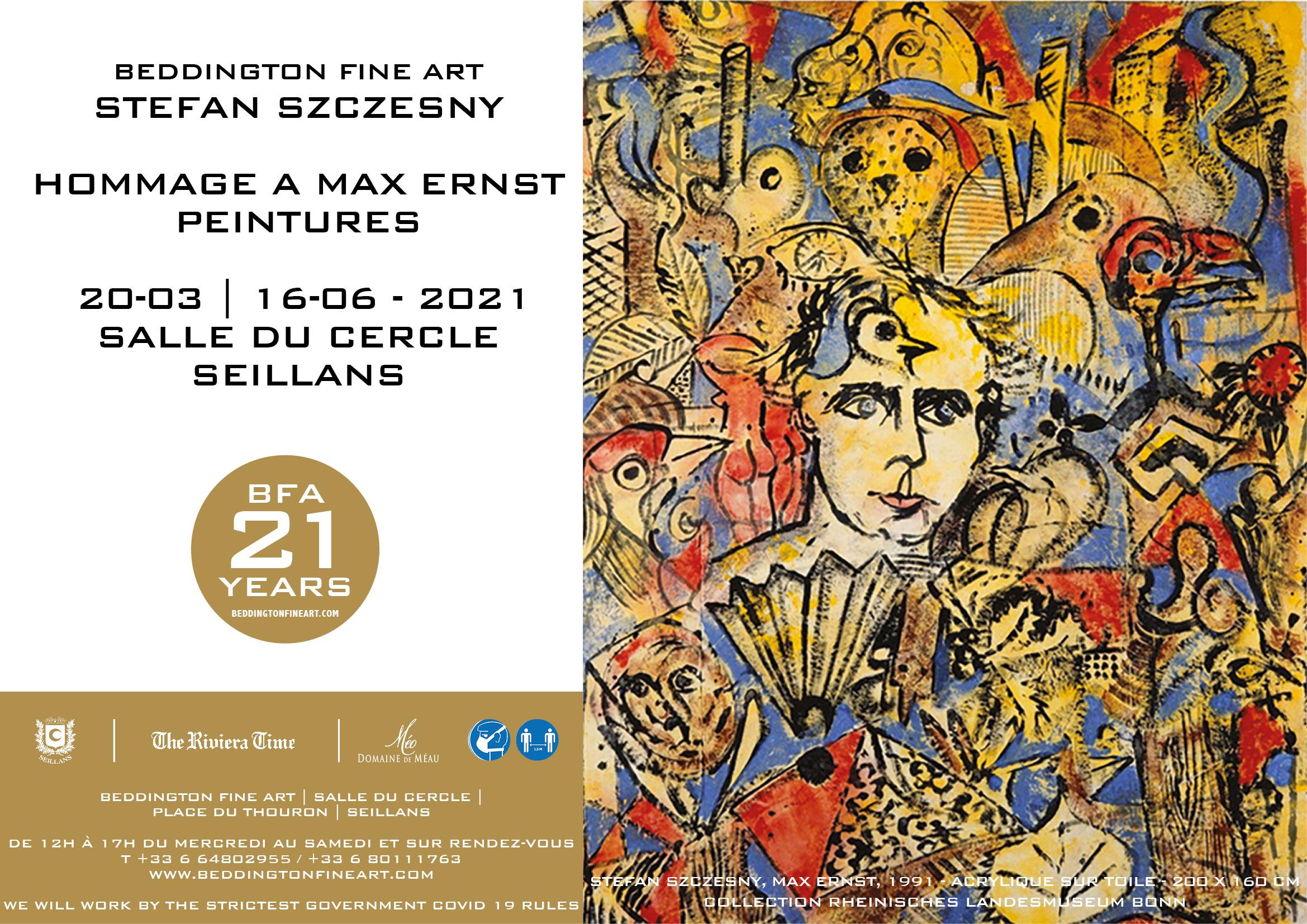 Invitation exposition max ernst